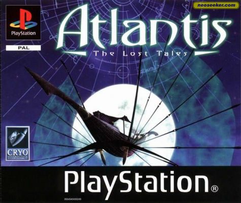 Atlantis: The Lost Tales - PSX - PAL (Europe)
