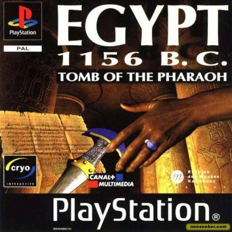 Egypt 1156 B.C.: Tomb of the Pharaoh - PSX - PAL (Europe)
