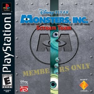 Monsters, Inc. Scream Team - PSX - NTSC-U (North America)