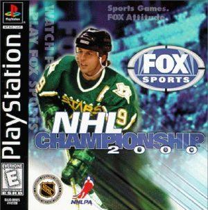 NHL Championship 2000 - PSX - NTSC-U (North America)