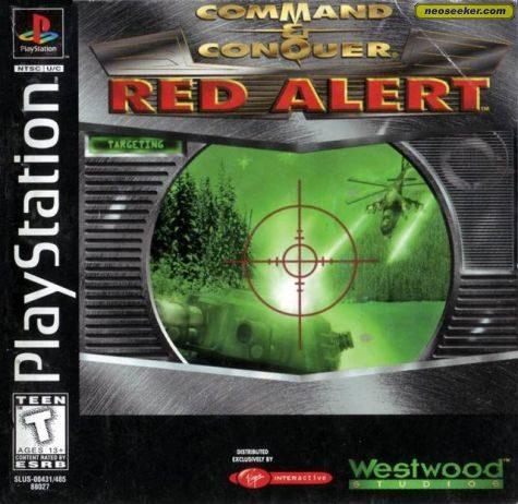 Command & Conquer: Red Alert - PSX - NTSC-U (North America)