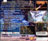 The Legend of Dragoon NTSC-U (North America) back cover box shot