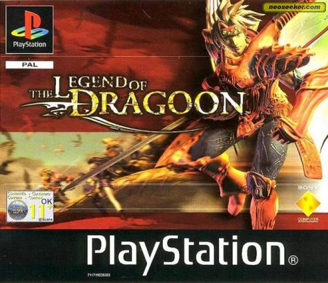 The Legend of Dragoon - PSX - PAL (Europe)
