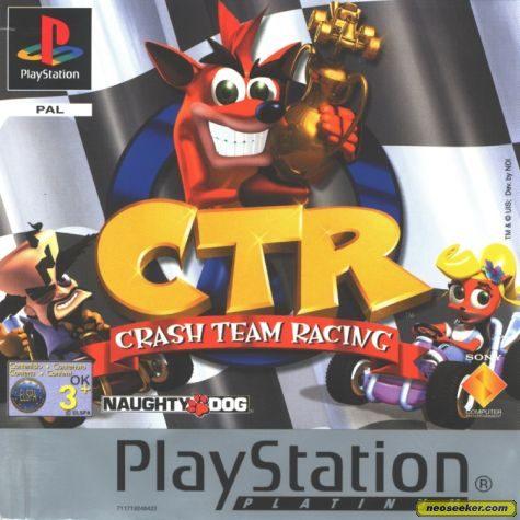 Crash Team Racing - PSX - PAL (Europe)