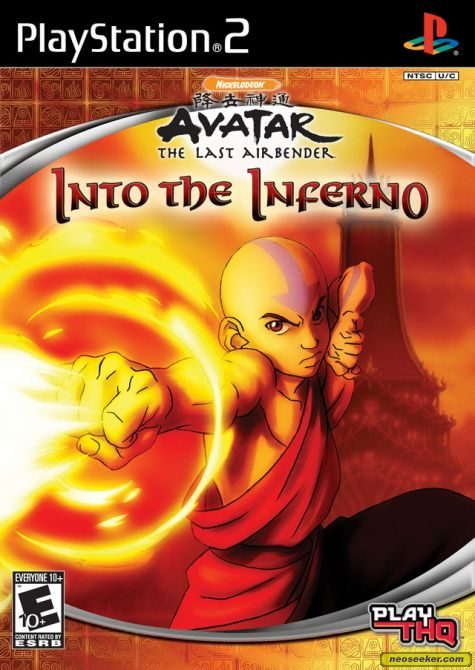 Avatar The Last Airbender: Into the Inferno - PS2 - NTSC-U (North America)