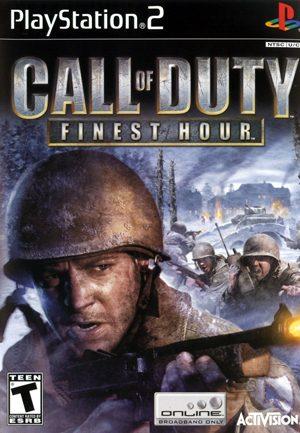 Call of Duty: Finest Hour - PS2 - NTSC-U (North America)