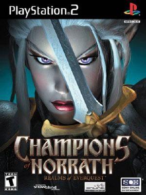 Champions of Norrath - PS2 - NTSC-U (North America)
