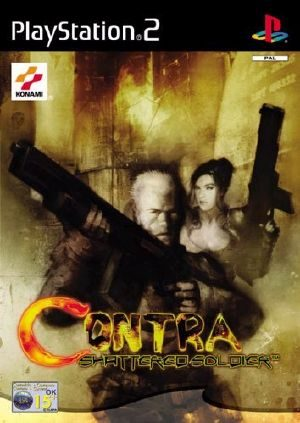 Contra: Shattered Soldier - PS2 - PAL (Europe)