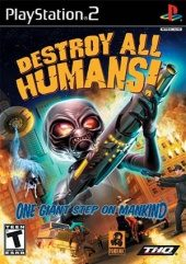 Box shot of Destroy All Humans! [North America]