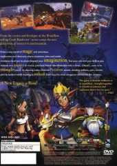Jak and Daxter NTSC-U (North America) back cover box shot
