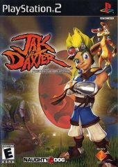 Jak and Daxter NTSC-U (North America) front boxshot
