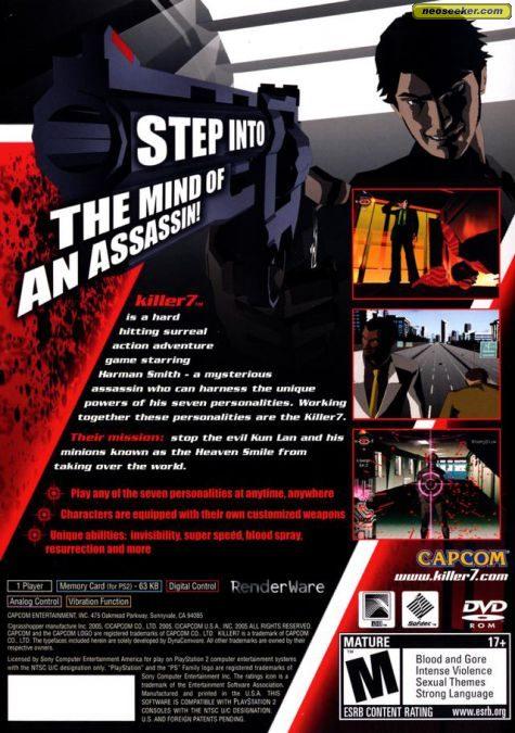 Killer 7 - PS2 - NTSC-U (North America)