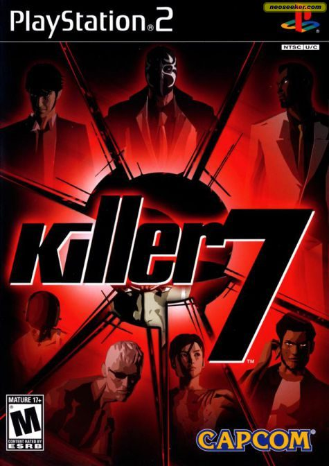 Killer 7 - PS2 - NTSC-U (North America)
