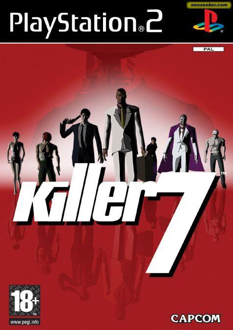 Killer 7 - PS2 - PAL (Europe)