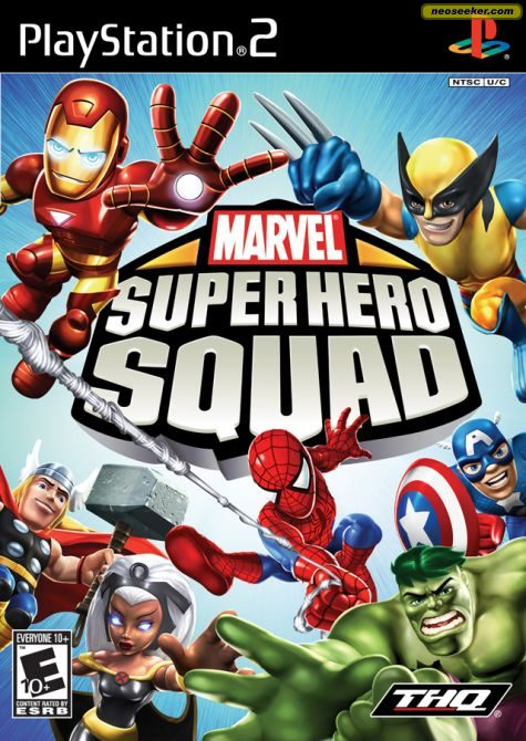 Marvel Super Hero Squad - PS2 - NTSC-U (North America)