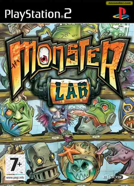 Monster Lab - PS2 - PAL (Europe)
