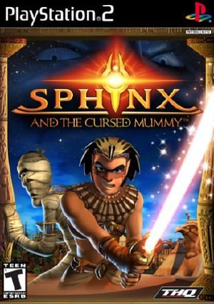 Sphinx and the Cursed Mummy - PS2 - NTSC-U (North America)