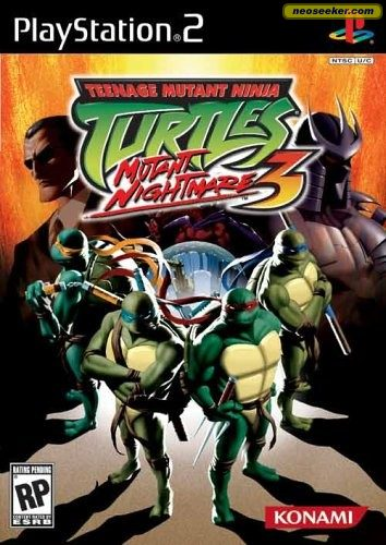 Teenage Mutant Ninja Turtles 3: Mutant Nightmare - PS2 - NTSC-U (North
