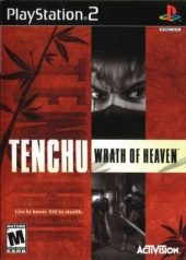 Tenchu: Wrath of Heaven NTSC-U (North America) front boxshot