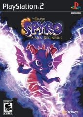Box shot of The Legend of Spyro: A New Beginning [N
