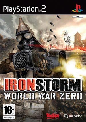 world war zero. World War Zero: Ironstorm - Front cover