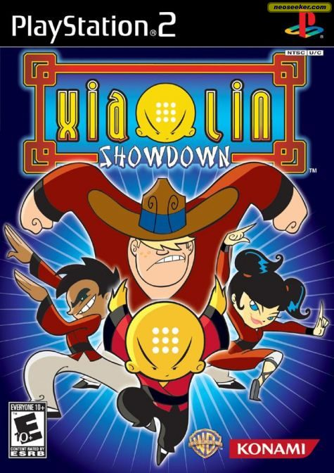 Xiaolin Showdown - PS2 - NTSC-U (North America)
