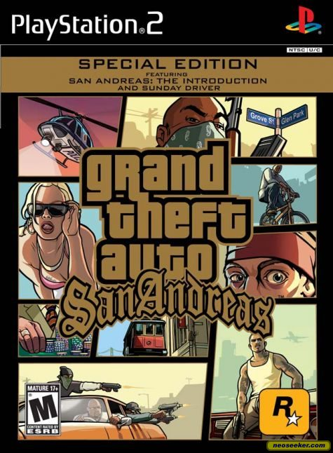 Grand Theft Auto: San Andreas - PS2 - NTSC-U (North America)
