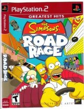Box shot of The Simpsons Road Rage [North America]