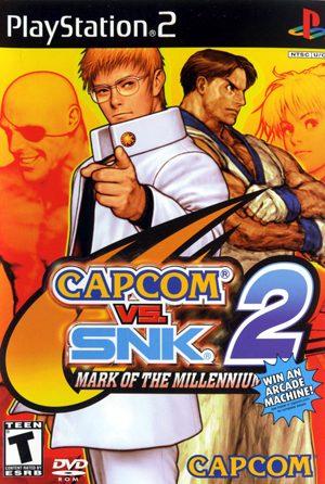 Capcom vs SNK 2 - Mark of the Millennium 2001 NTSC PS2