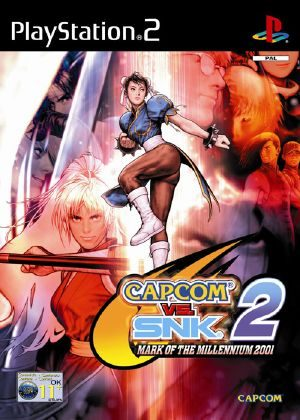 Capcom VS SNK 2: Mark Of The Millenium [NTSC] [PS2] [FLS]