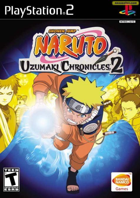 Naruto: Uzumaki Chronicles 2 - PS2 - NTSC-U (North America)