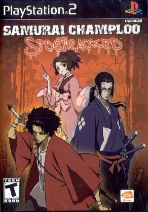 Samurai Champloo: Sidetracked - PS2 - NTSC-U (North America)