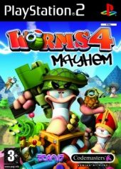 Box shot of Worms 4: Mayhem [Europe]