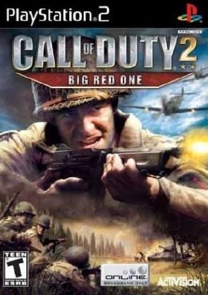 Call Of Duty 2: Big Red One - PS2 - NTSC-U (North America)