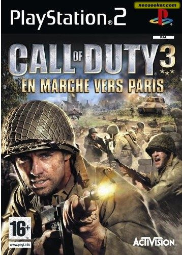call of duty 3 ps2. Call of Duty 3 - PS2 - PAL