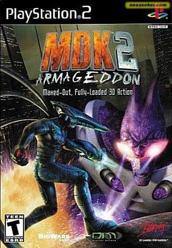 MDK 2 Armageddon - PS2 - NTSC-U (North America)
