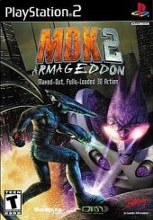 MDK 2 Armageddon (North America Boxshot)
