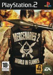 Box shot of Mercenaries 2: World In Flames [Europe]
