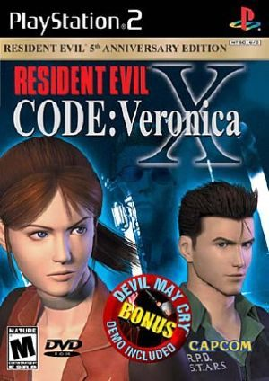 Resident Evil Code: Veronica X - PS2 - NTSC-U (North America)