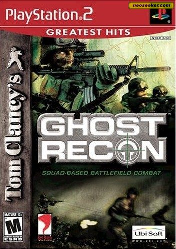 Tom Clancy's Ghost Recon - PS2 - NTSC-U (North America)