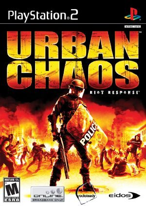 Urban Chaos: Riot Response - PS2 - NTSC-U (North America)