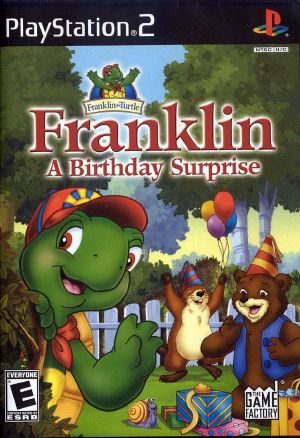 Franklin: A Birthday Surprise - PS2 - NTSC-U (North America)