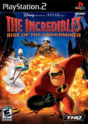 The Incredibles: Rise Of The Underminer - PS2 - NTSC-U (North America)