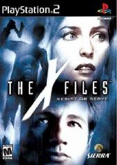 Box shot of The X-files: Resist or Serve [North America]