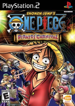 One Piece: Pirates Carnival - PS2 - NTSC-U (North America)