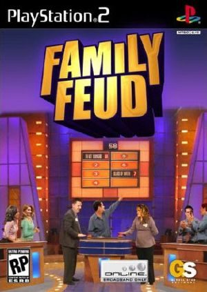 Family Feud PS2 Front cover