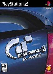 Box shot of Gran Turismo 3 A-spec [North America]