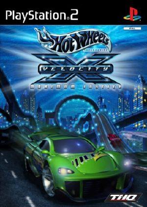 Hot Wheels: Velocity X - PS2 - PAL (Europe)