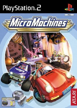 Micro Machines - PS2 - PAL (Europe)