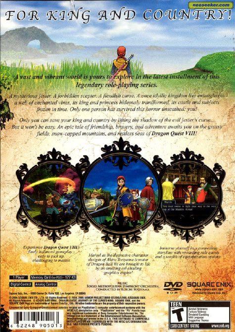 Dragon Quest Viii Ps2 ntsc